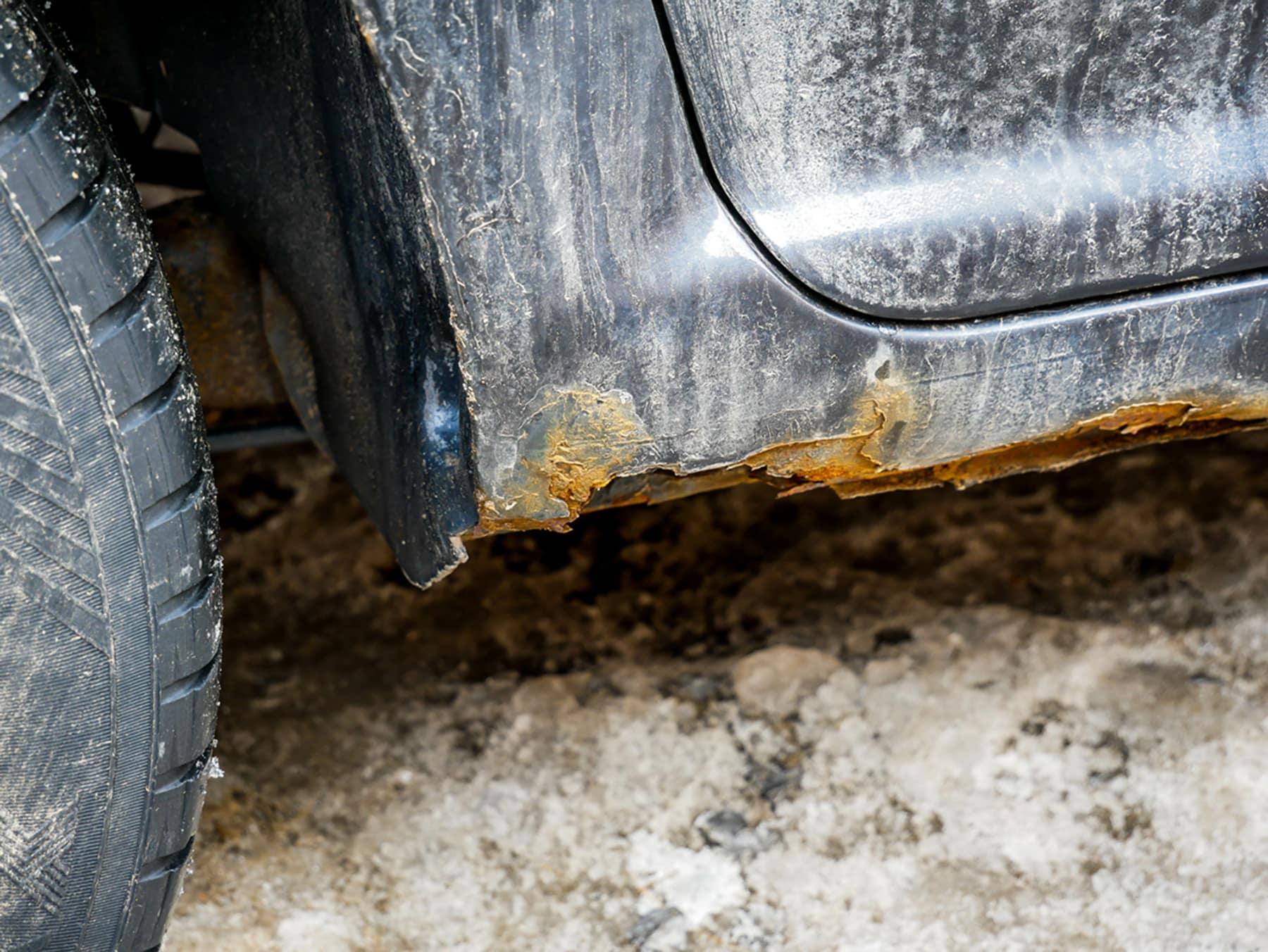 Rust Spots on Car