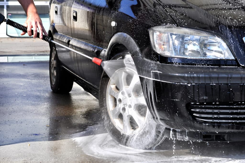 Prevent Rust by Washing Car